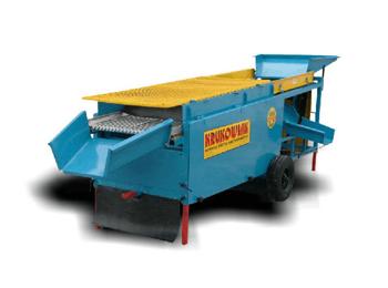 Обрезная очищающая машина для лука
