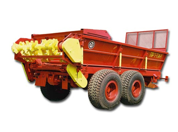 Машина для внесения твёрдых органических удобрений ПРТ-7А
