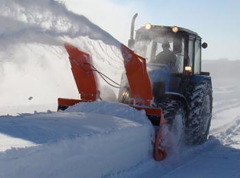 Снегоуборочная машина СУ 2.5