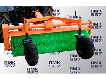 Щеточное оборудование к тракторам  Беларус (8-9 серии), захват 1,8 м