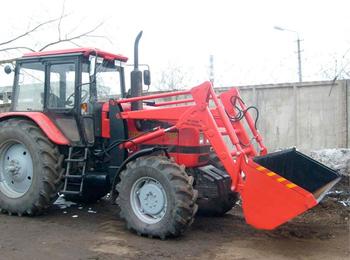 Погрузчик фронтальный ПФН-500 к трактору Беларус-1221.2