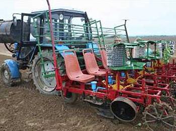 Посадочно-рассадочная машина